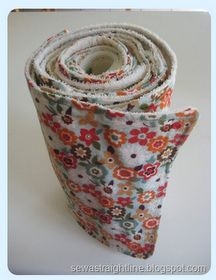 Sew a Straight Line: Rolled Kitchen Towels-Tutorial!! Doing it (this year :)