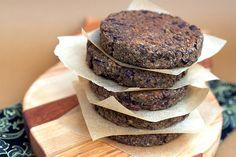 Olive Lentil Burgers | Post Punk Kitchen | Vegan Baking & Vegan Cooking