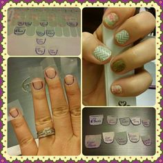 Need a better fit for your Jamberry wraps? Use scotch tape or wax paper to make templates and trim your nail wraps to the perfect specs. Great idea for pedis especially, since they're not already trimmed for your toes.