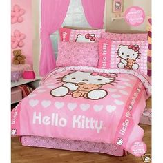 Full Size Hello Kitty Bedding