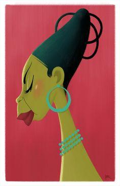 Nina Simone, High Priestess of Soul © Peter Emmerich via http://peteremmerich.blogspot.com