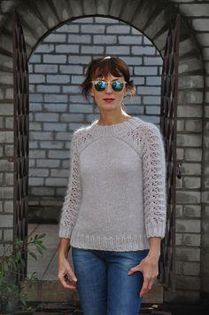 Seamless Raglan Sweater -  - Ravelry - a knit and