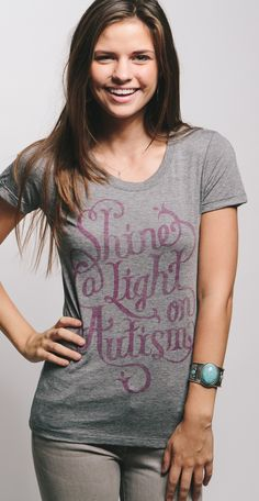 Shine a light on #autism! Raise awareness, show your support & shop to give back.
