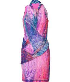 Very colour and beautiful drape dress! Jersey Dress #fashiondress #women #JerseyDress #Jersey #Dresses #anoukblokker