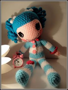 Crocheted Lalapoosy! I want! I mean Harper wants...