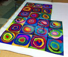 Art Projects for Kids: artist Kandinsky.    -Repinned by Totetude.com