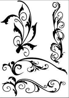 Flourishes - SVG Freebie cricut idea, silhouett, svg file, flourish svg, diy idea, svg freebi, free printabl, gift idea, cut file