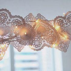 Gorgeous lace like lights!