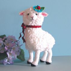 Mathilda Le Mouton by bluebeary treasures, Sue Pendleton