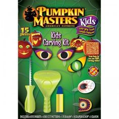 Pumpkin Masters Kids Carving Kit