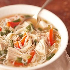 Collection of Chicken Soup Recipes - Lift your spirits and tantalize your taste buds with a hearty and healthy bowl of chicken soup, chunky stew, or gumbo.