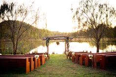 really beautiful ideas for an outdoor wedding, from Spring Lake Events in Rockmart, GA
