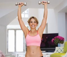"The ""lazy girl"" workout; do this during a 30 min tv show"