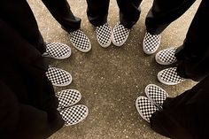 Want all the guys in my wedding to wear vans<3