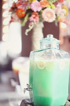 oh goodness -- mint lemonade!