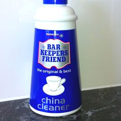 Bar Keepers Friend - Magic stuff! It removed all the scratches from my cream china and the lime scale marks from my shower glass doors... I had tried everything to no avail!