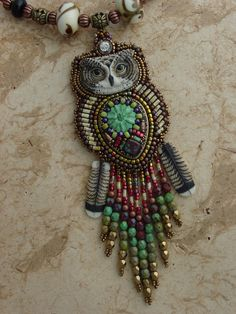 Flowing Owl Necklace