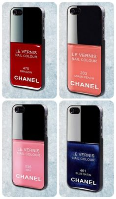 My iPhone case? Oh, it's a Chanel. (Ha.)