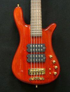 Warwick Streamer 5 String $$ High Polish Red