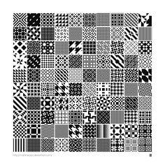 Monochrome #geometric patterns by #MartinIsaac.