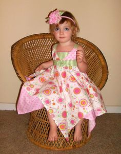 Handkerchief Dress PDF Sewing Pattern Tutorial ... NEW. $7.50, via Etsy.