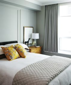 Traditional Condo Bedroom | photo Angus Fergusson | stylist Joel Bray | House & Home