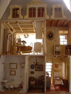 French Country Doll House.