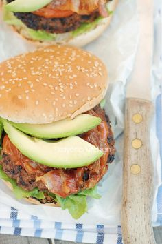 Bacon & Avocado Burger #instamburger