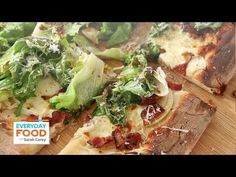 Bacon and Escarole Pizza | Everyday Food with Sarah Carey