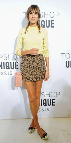 Alexa Chung in Topshop