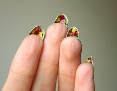 The Secret Garden manicure