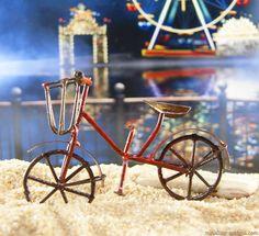 Mini bike in the fairy garden beach.