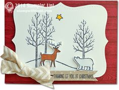 Stampin Up White christmas card. happy World Card making day. #stampinup #whitechristmas #christmas #crafting #cardmaking