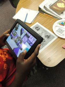 Augmented Reality - Getting started with Shape Quest - free geometry app!