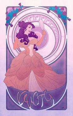 Disney Princesses Seven Deadly Sins