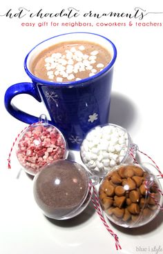 Hot chocolate orname