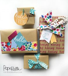 Easy gift wrapping i