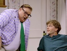 Saturday Night Live: Chris Farley as Matt Foley #SNL
