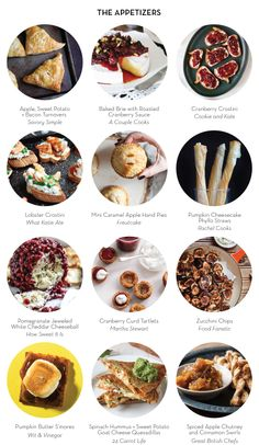 HOLIDAY APPETIZER PARTY – The Appetizers