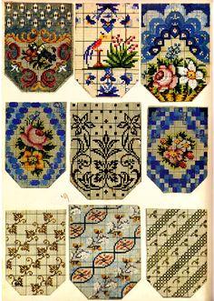 Victorian Beadwork Purse Patterns ~ Berlin WoolWork BeadWork ~