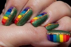 St. Patrick's Day Manicure