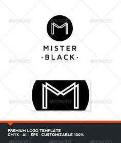 Mister Black - Letter M Logo Tempate  #GraphicRiver         Mister Black: is a logo that can be used by different types of professionals, in bars and restaurants, in agencies and studios, among other uses. Its design is very simple and is easy to configure. This ready to print.    Customizable 100%   CMYK    AI – EPS    Font used Maven Pro      Created: 14November12 GraphicsFilesIncluded: VectorEPS #AIIllustrator Layered: Yes MinimumAdobeCSVersion: CS Resolution: Resizable Tags: bar #black #brand #branding #business #circle #corporate #designer #identity #letter #logo #logotype #m #minimal #minimalist #photographer #professional #pub #restaurant #unique #white