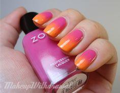 nail polish, color combos, hair beauty, summer nails, nail arts, gradient nails, beauti, color charts, summer colors
