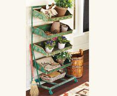 Four-Seasons Garden Shelves