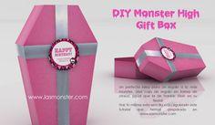 DIY Caja de regalo Monster High