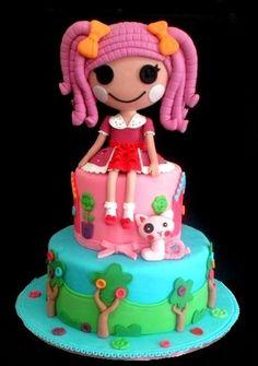 Lalaloopsy Cake