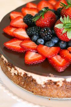 strawberry cheesecake perfection