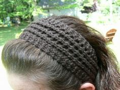 easy knitted headband, just needs a cute flower pinned to it