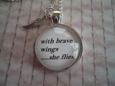 tattoo idea, friends, etsi, necklaces, wing necklac