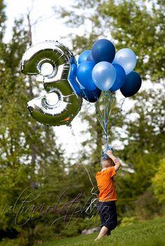 number balloon, happy birthdays, kid pictur, birthday idea, birthday photos, photo idea, kid stuff, balloons
